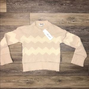 Kendall & Kylie chenille sweater